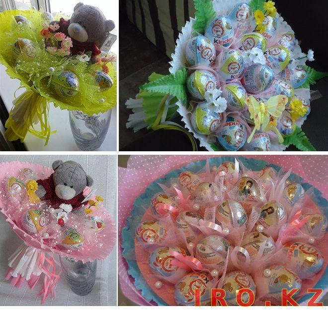 Букеты из конфет оригинальные подарки 2
