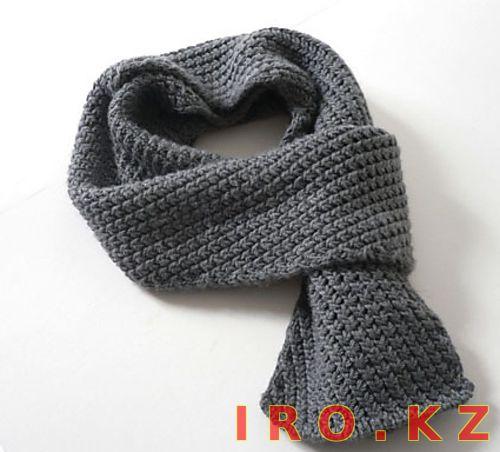 вязание крючком мужские шарф в картинках